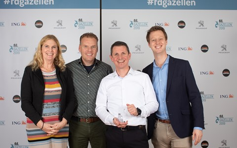 Trotse winnaar FD Gazelle Award
